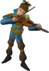 Cooking guild musician