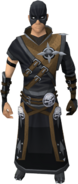 Executioner outfit equipped (male)