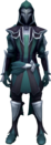 Faceless Assassin (green) equipped.png