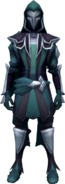 Faceless Assassin (green) equipped