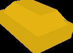 Gold bar detail