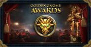 Golden Gone Awards 2017 banner