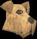 Terrier (tan) chathead