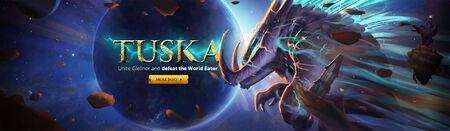 Tuska World Event head banner