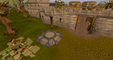 Yanille lodestone location