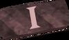 Bronze ingot i detail