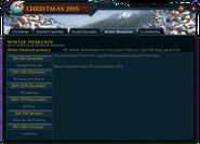 Christmas 2015 (Winter Weekends) interface