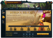 Community (Build A Beach) interface 1