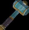 Crystal hammer detail