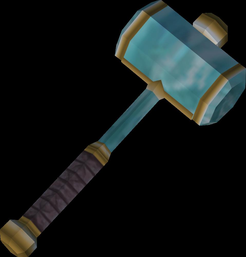 crystal hammer runescape wiki fandom powered by wikia