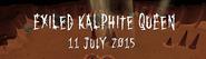 Exiled Kalphite Queen 11 July 2015