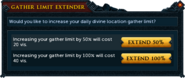 Gather Limit Extender interface