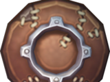 Leather shield