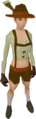 Lederhosen clothing (female) equipped