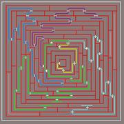 Maze random event