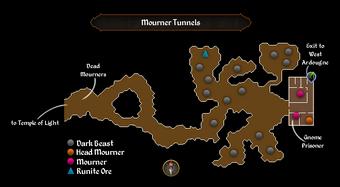 Image result for mourner tunnels osrs
