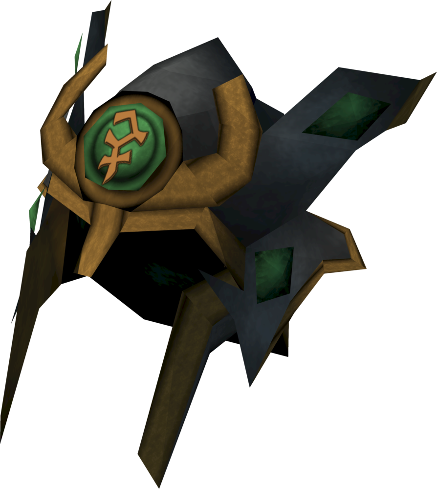 Relic helm of Bandos detail