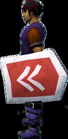 Rune kiteshield (Kandarin) equipped
