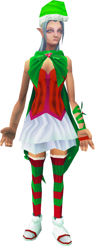 Santas Head Elf Runescape Wiki Fandom Powered By Wikia