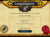 Shield of Arrav/Quick guide