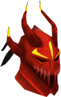 Dragon full helm (or) chathead