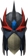 Full slayer helmet (red) detail