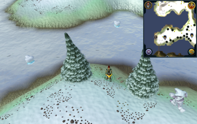 File:Scan clue Fremennik Isles north between 2 Arctic Pines on south-west snowy island.png