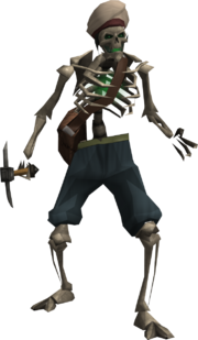Skeleton looter