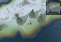 Scan clue Fremennik Isles east of bridge to south-west snowy island.png