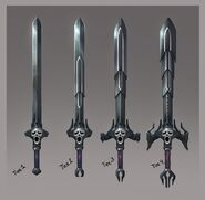Wilderness Swords concept art