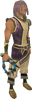 Abyssal whip (blue) equipped