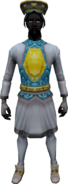 Ancient Outfit (male) equipped