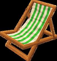 Deck chair (green)