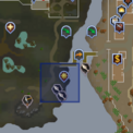 Fish Flingers (Lumbridge Swamp) location