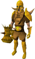 Golden Torag the Corrupted's equipment equipped