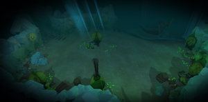 Inside Smuggler's Cove