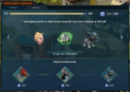 May's Quest Caravan (Interface, Rewards)