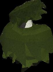 Penguin in bush