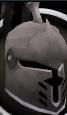 Steel heraldic helm (Horse) chathead