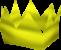 Chapéu de festa amarelo