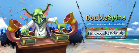 Double Spins banner