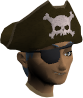 Hat and eyepatch chathead