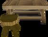 Oak workbench built