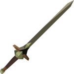 Off-hand kratonite longsword detail