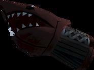 Off-hand shark fist 1 detail