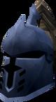 Steel heraldic helm (Asgarnia) detail