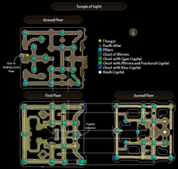 Temple of Light map