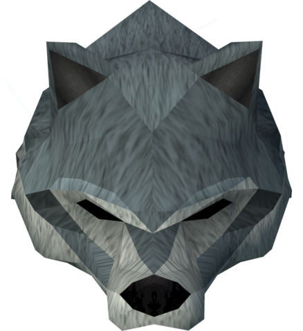 File:Werewolf mask (dark grey, female) detail.png