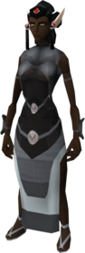 Elven outfit equipped (female)