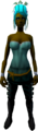 Feather headdress (charged) (stripy) equipped.png